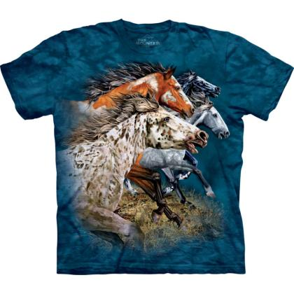 "The Mountain T-Shirt ""Find 13 Horses"""