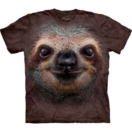 "The Mountain T-Shirt ""Sloth Face"""
