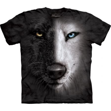 "The Mountain T-Shirt Wolfmotiv ""Adventure Wolf"""