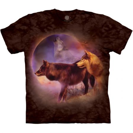 "The Mountain T-Shirt ""Spirit of the Moon Wolves"""