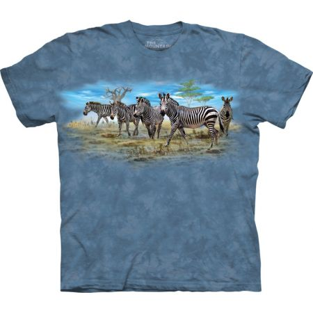 The Mountain T-Shirt Eine Horde Zebras