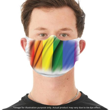 Maske The Mountain Pride Flag