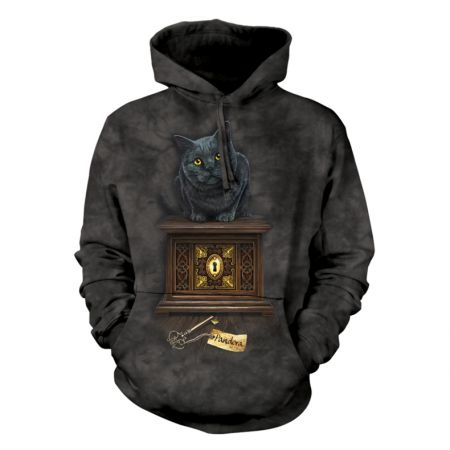 "The Mountain Hoodie  Katzenmotiv ""cat"""