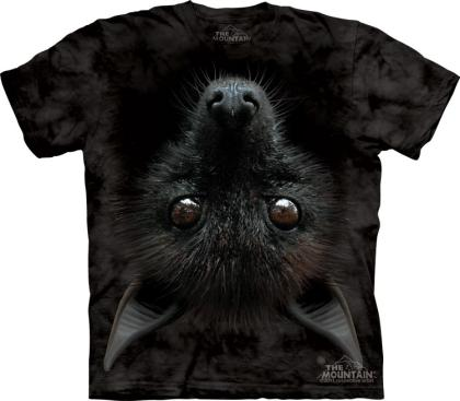 "The Mountain T-Shirt ""Fledermaus"" - bat head"