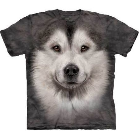 The Mountain T-Shirt Malamute dog