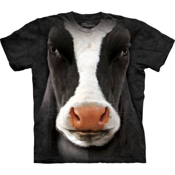 "The Mountain T-Shirt ""Black Cow Face"""