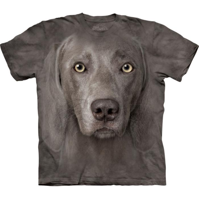The Mountain T-Shirt Kiner Weimaraner