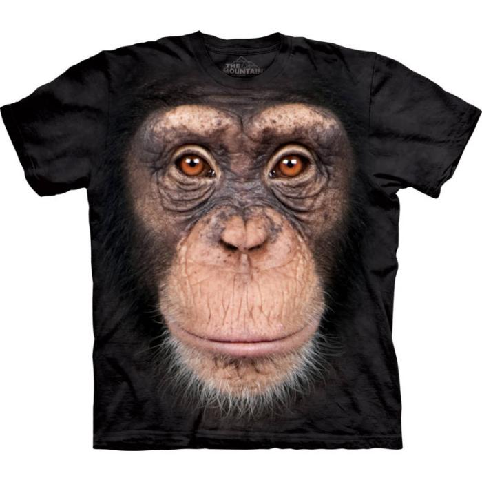 The Mountain T-Shirt Chimp Face