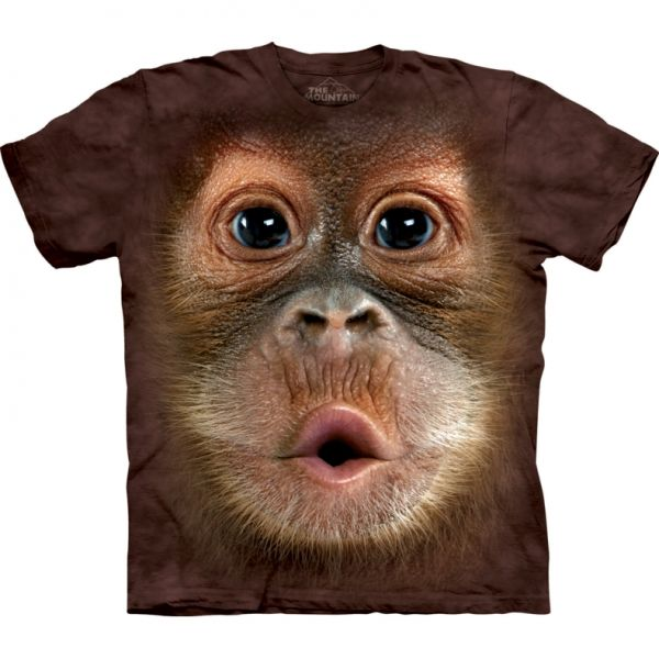 "The Mountain T-Shirt ""Orangutan"""