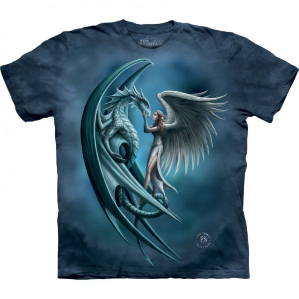 The Mountain T-Shirt Angel & Dragon - Anne Stokes
