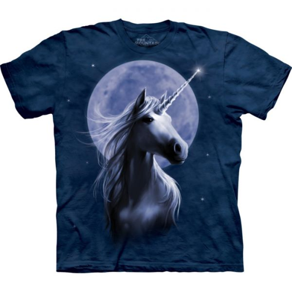 "The Mountain T-Shirt ""Starlight Unicorn"""