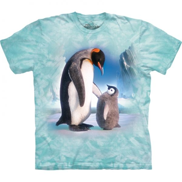 "The Mountain T-Shirt ""emperor penguin"" - Pinguine"