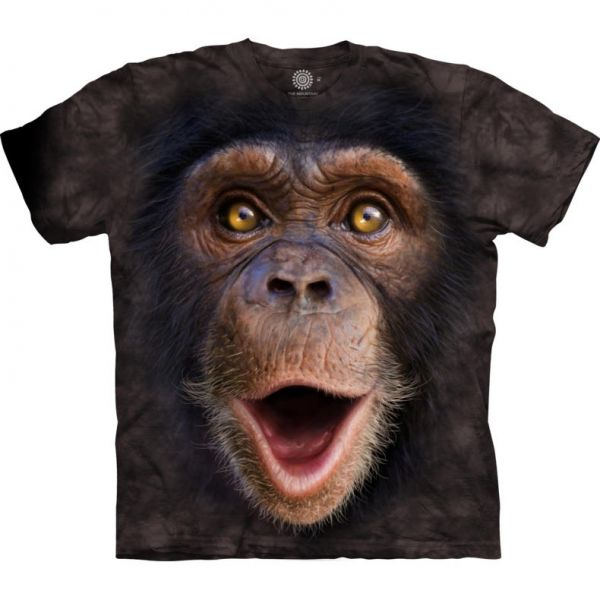 "The Mountain T-Shirt""Chimp primate"""