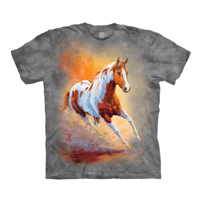 The Mountain T-Shirt Sunset Gallop
