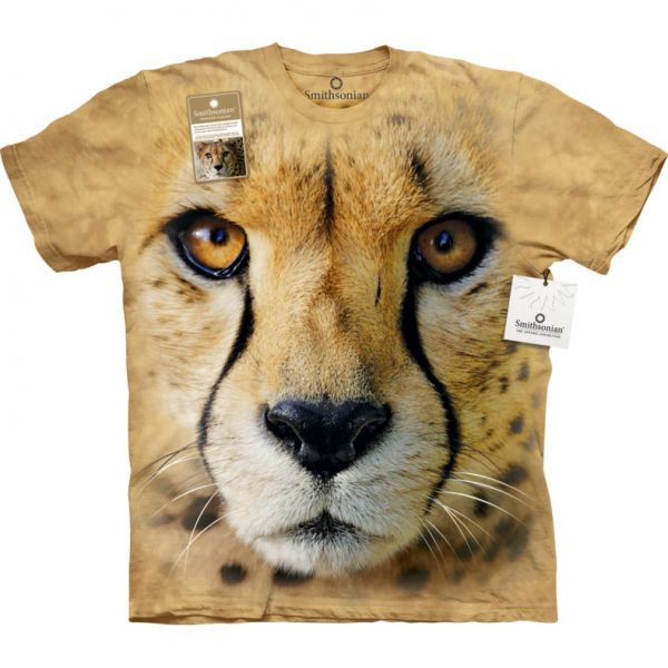 The Mountain T-Shirt Raubkatze Big Face Cheetah