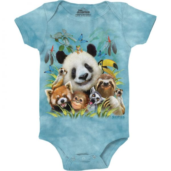 The Mountain bodysuit Babystrampler