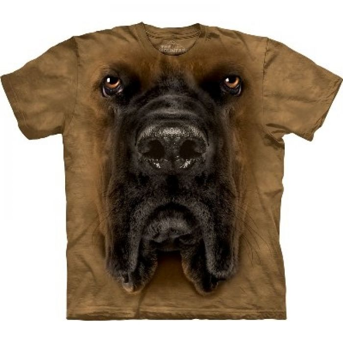 The Mountain T-Shirt Hundemotiv Mastiff