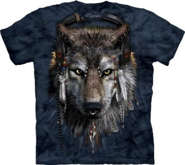 "The Mountain T-Shirt Wolf ""DJ FEN"""