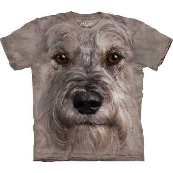 "The Mountain T-Shirt Hundemotiv ""Schnauzer"""