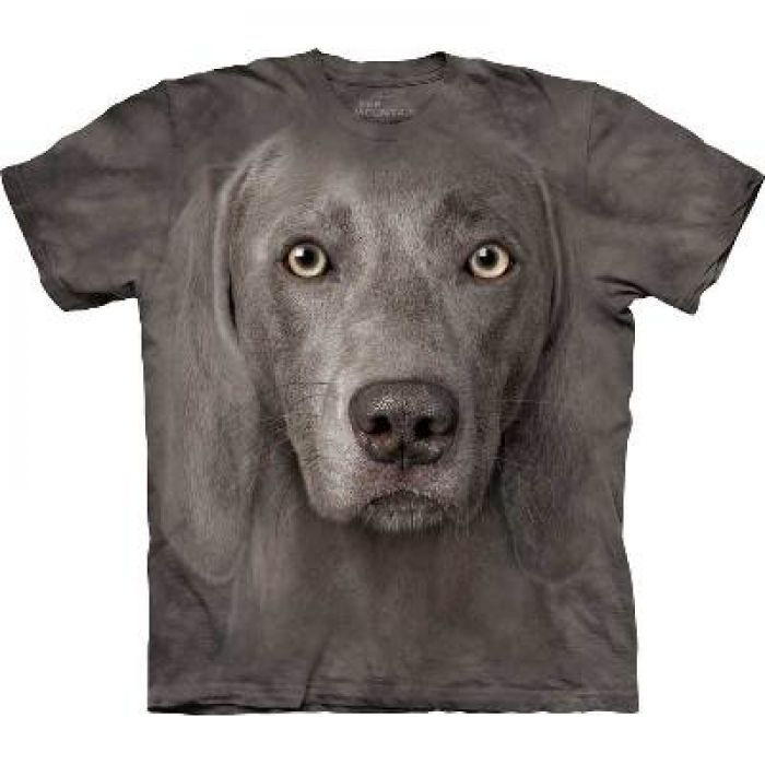 The Mountain T-Shirt Hundemotiv Weimaraner