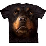 """Rottweiler Face"" The Mountain T-Shirt Erwachsene"