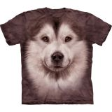 """Malamute Face"" The Mountain T-Shirt Erwachsene (S - 3XL)"