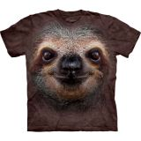 """Sloth Face"" The Mountain T-Shirt Erwachsene Faultier (unisex / S bis 3XL)"