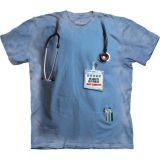 "Abverkauf - The Mountain T-Shirt Erwachsene ""Nurses Job"" (Gr. 3XL)"