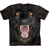 The Mountain T-Shirt Panther Big Cat