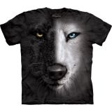 The Mountain T-Shirt Wolfmotiv