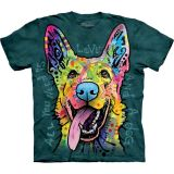The Mountain T-Shirt Kinder Love Shepherd - Schäferhund
