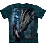 The Mountain T-Shirt Drachenmotiv