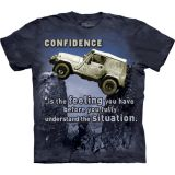 """Jeep Outdoor Adventure"" - The Mountain T-Shirt Erwachsene"