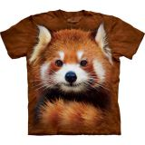 The Mountain T-Shirt für Kinder Red Panda Portrait