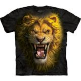 "ABVERKAUF - The Mountain T-Shirt KINDER  Gr. S - Raubkatze ""Asian Lion"""