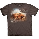 """Jeep - Mud flying"" - The Mountain T-Shirt Erwachsene"