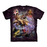"""Dragon Clan"" The Mountain Fantasy T-Shirt für Erwachsene (Anne Stokes)"
