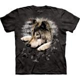 """Wolf in dye paw"" The Mountain T-Shirt KINDER - ABVERKAUF"