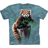 The Mountain T-Shirt für Kinder Bamboo Red Panda