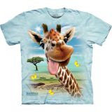 The Mountain T-Shirt Giraffe Selfie
