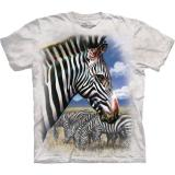 The Mountain T-Shirt Zebra Portrait
