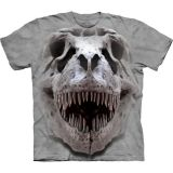 The Mountain Kinder T-Shirt T-Rex Big Skull