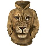 The Mountain Hoodie Lion Warrior