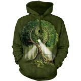The Mountain Hoodie  Yin Yang Tree