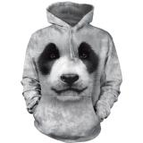 "The Mountain Hoodie ""Big Face Panda"" - Kapuzenpulli (Gr. 2XL / Abverkauf)"