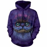 The Mountain Hoodie Big Face Cheshire Cat