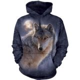 "The Mountain Hoodie ""Adventure Wolf""  (S bis 2XL)"