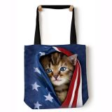 "The Mountain Tragtasche Katze ""Kitten blue"""