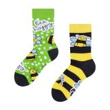"Coole bunte Kindersocken ""Happy Bees"""