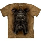 "Hundemotiv - The Mountain Erwachsenen T-Shirt ""Mastiff face"" - ABVERKAUF"